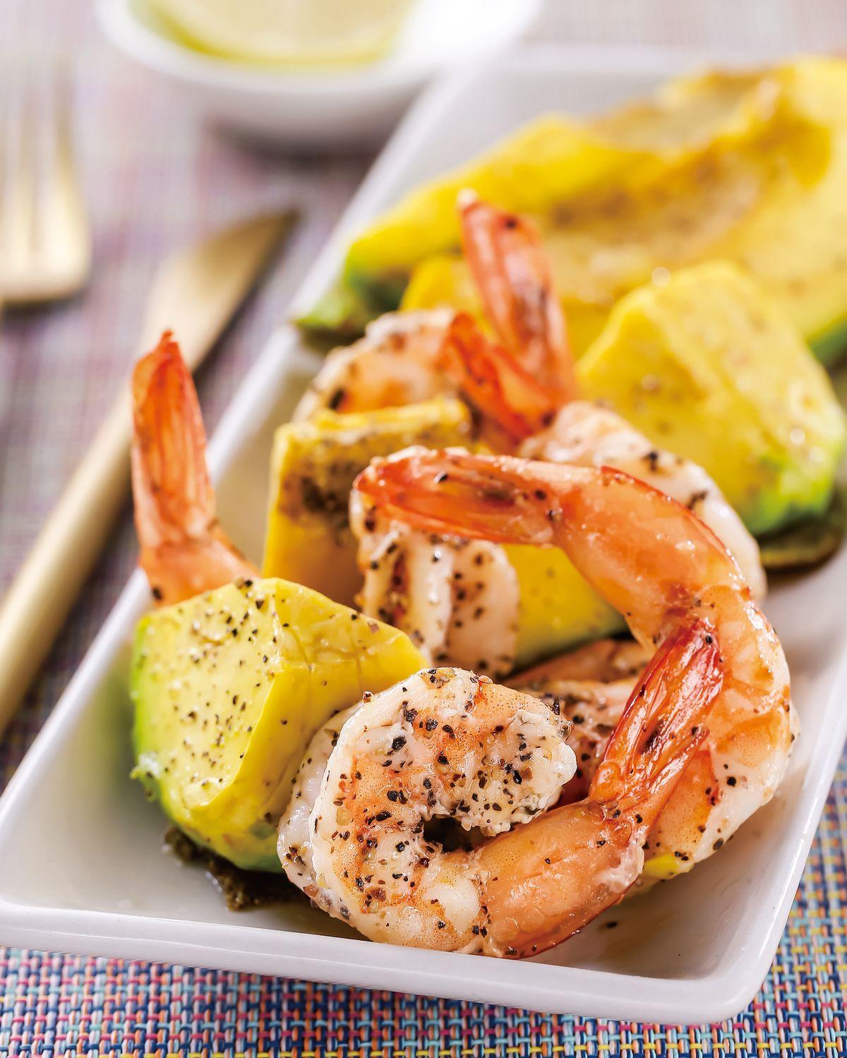 食譜:焗烤酪梨鮮蝦(1)