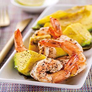 焗烤酪梨鮮蝦(1)