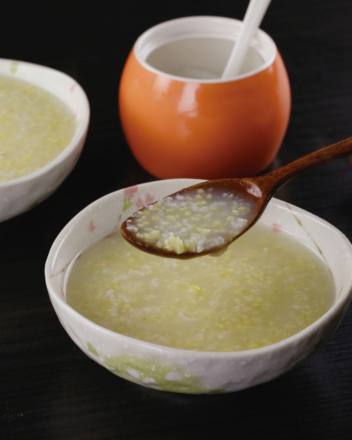 食譜:小米粥(6)