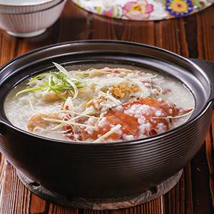 水蟹海鮮粥