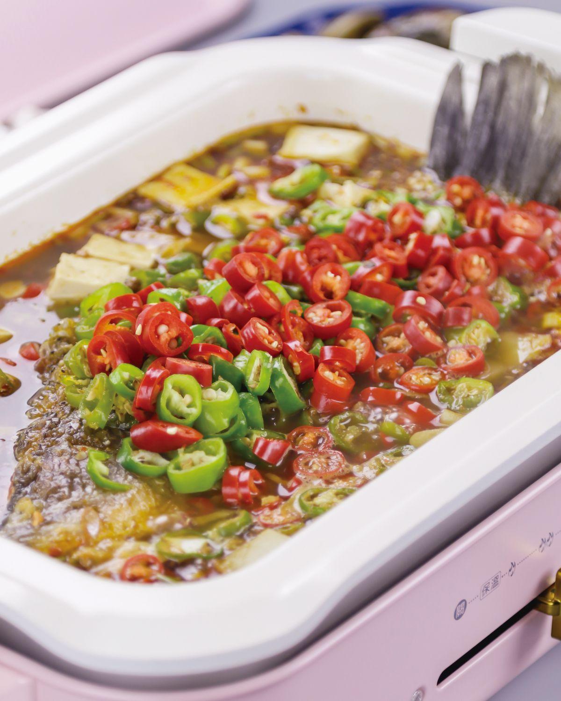 食譜:麻辣魚鍋