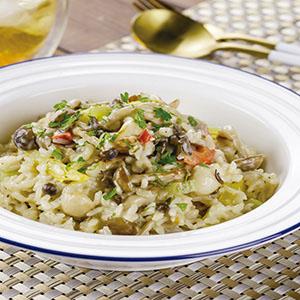 奶油野菇燉飯(1)