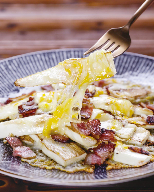 食譜:起司茭白筍