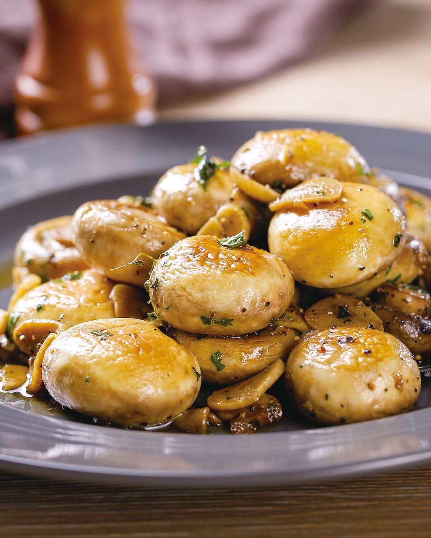 食譜:蒜香炒蘑菇