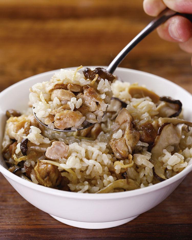 食譜:麻油雞飯(4)