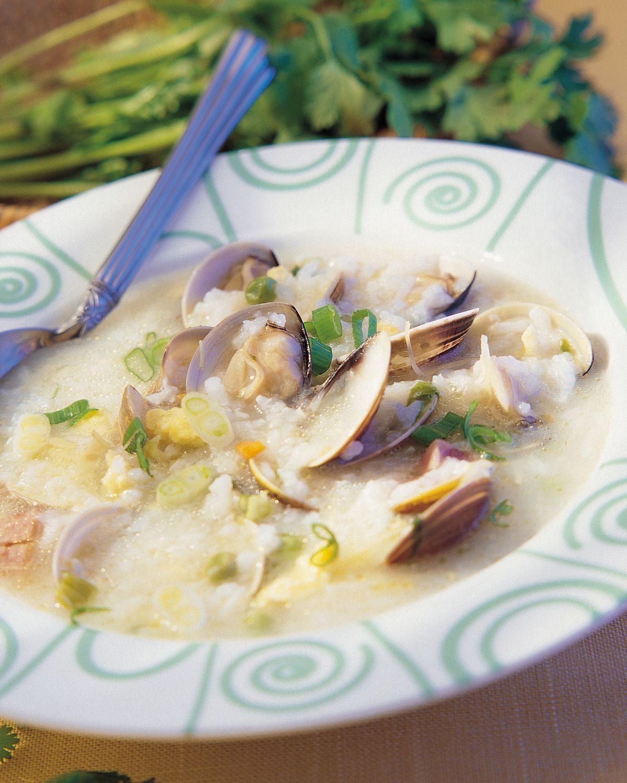 食譜:蛤蜊粥(2)
