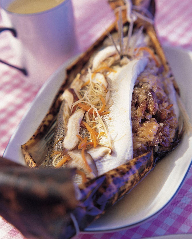 食譜:肉粽鱸魚