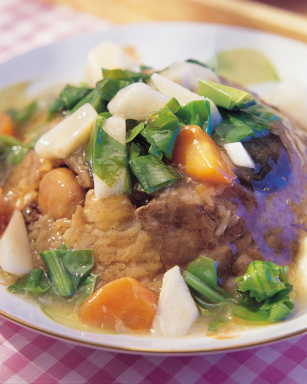 食譜:青蔬燴肉粽