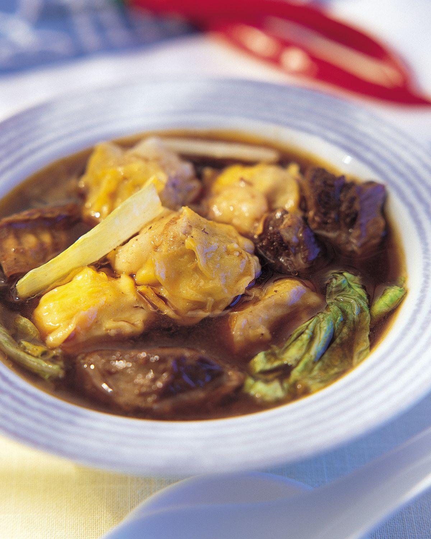 食譜:燒賣牛肉湯