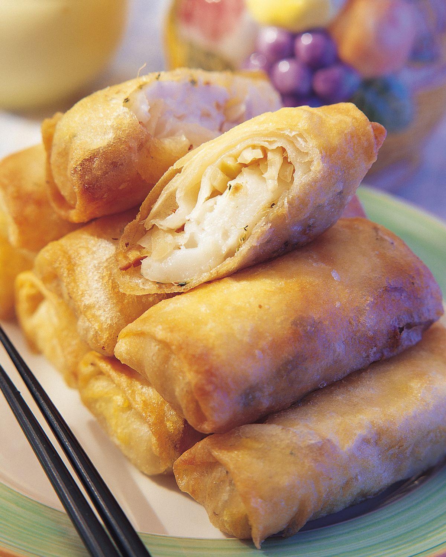 食譜:蘿蔔糕春卷