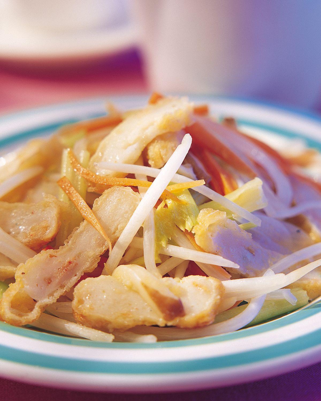食譜:海鮮排炒銀絲