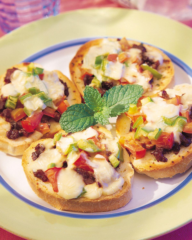 食譜:大蒜麵包比薩