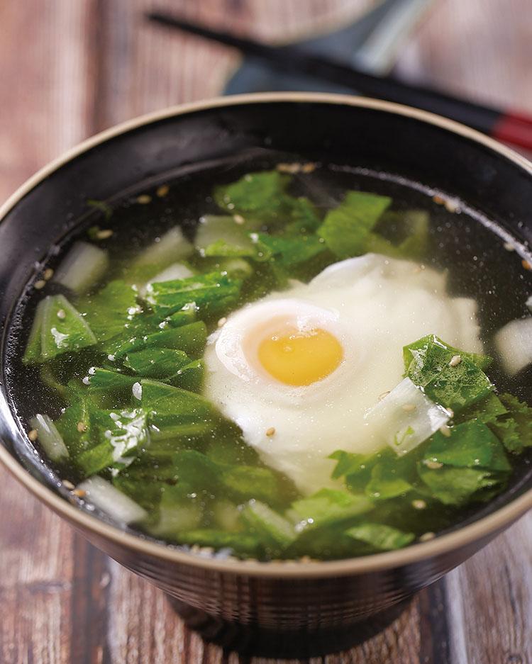 食譜:蛋包湯(1)