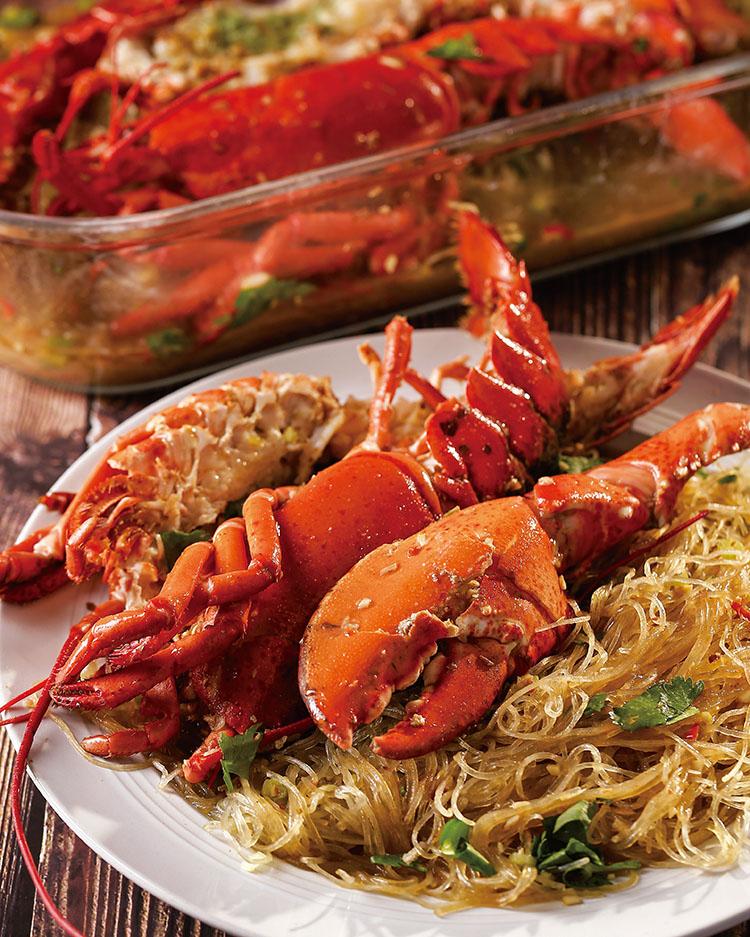 食譜:龍蝦粉絲煲
