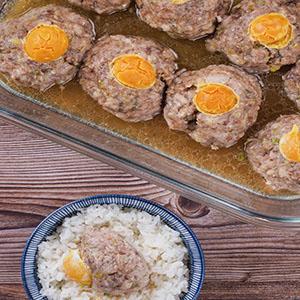 鹹蛋黃蒸肉