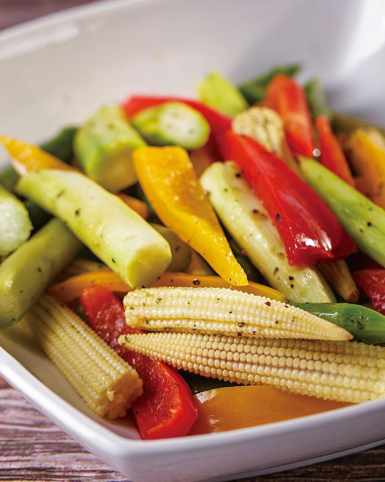 食譜:清蒸彩蔬
