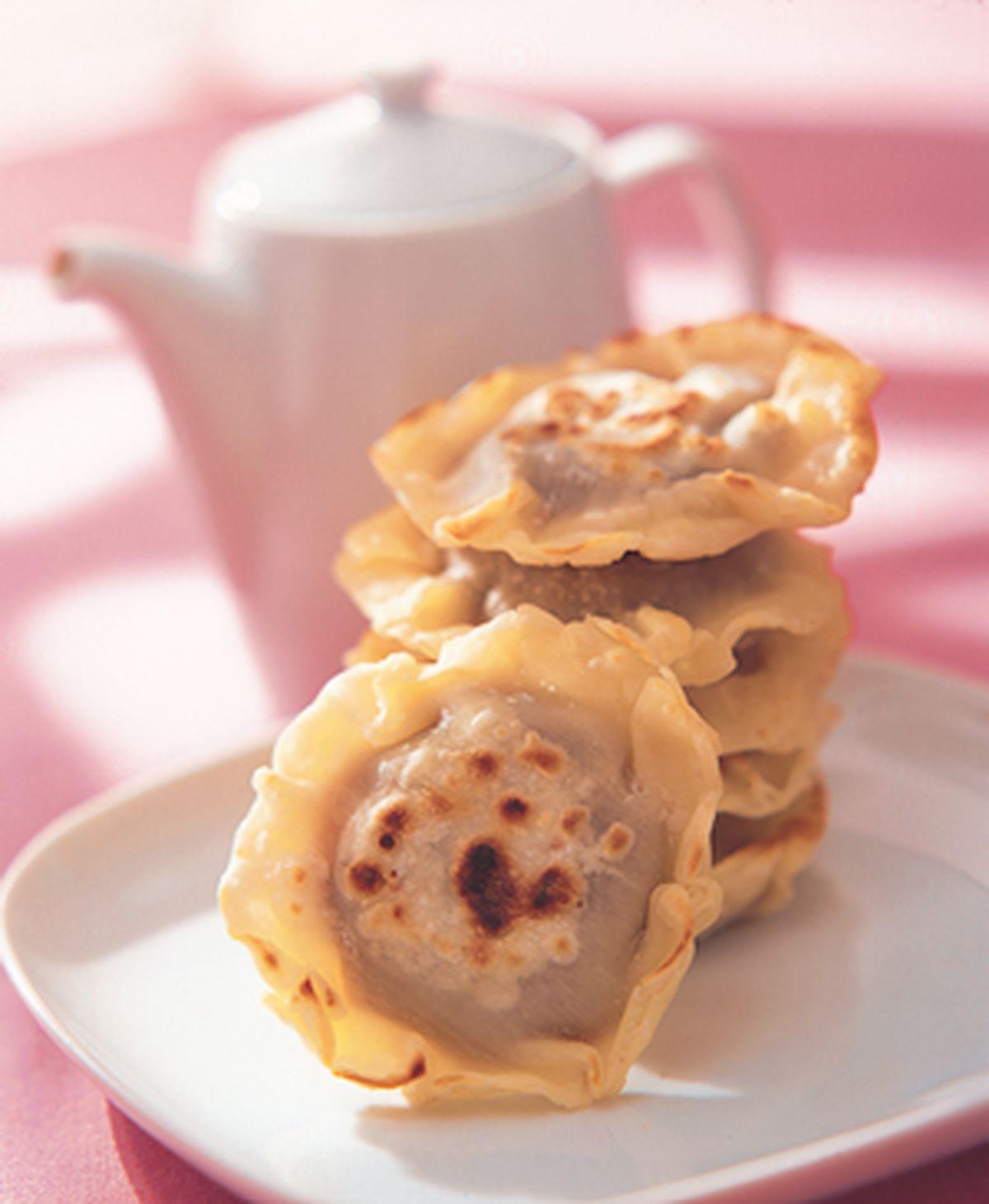 食譜:水餃豆沙煎餅