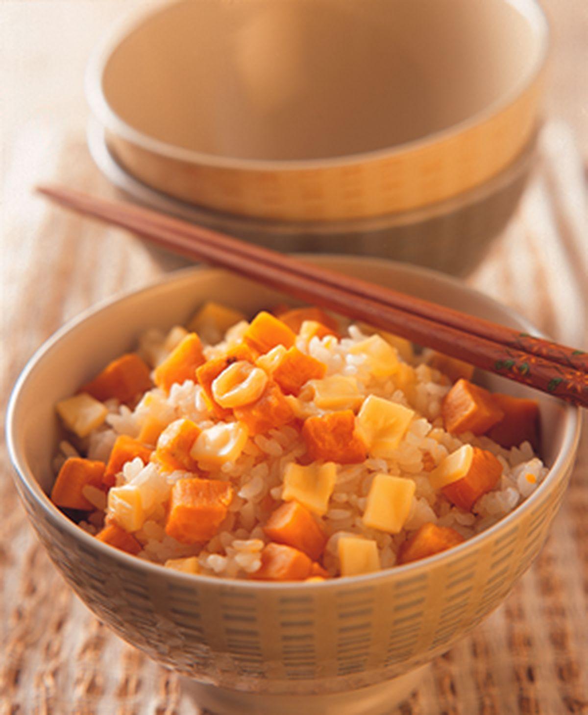 食譜:地瓜起司飯