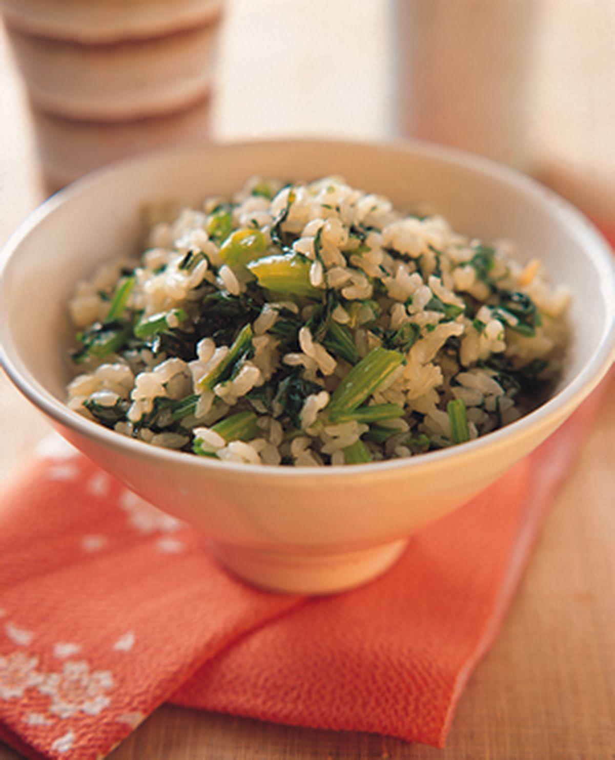 食譜:菠菜飯