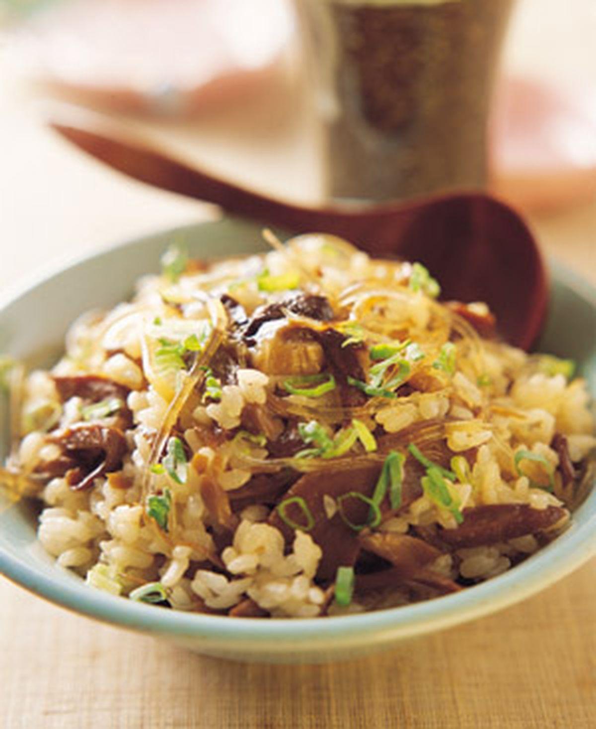 食譜:綜合菇飯