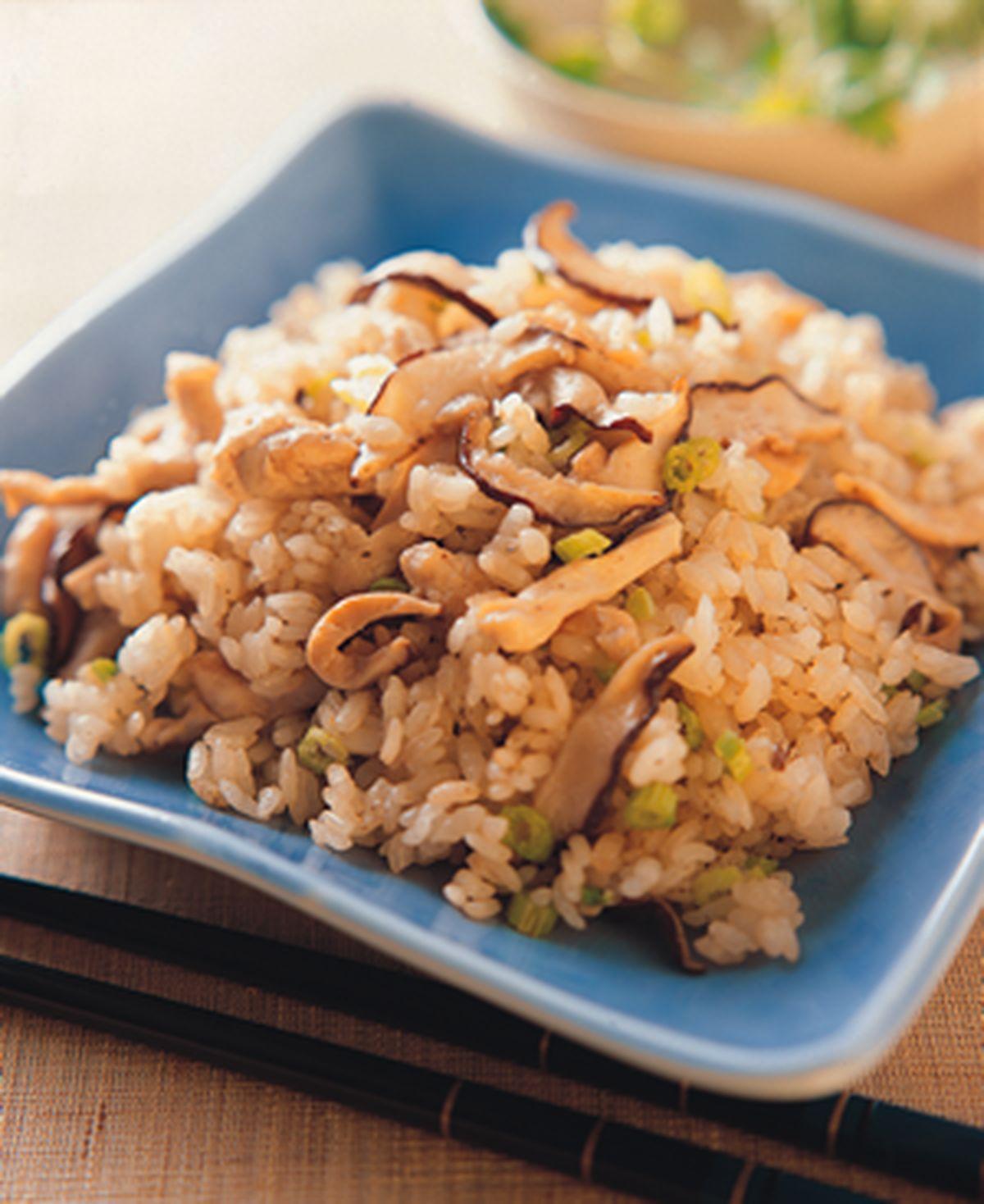 食譜:鮮香菇飯