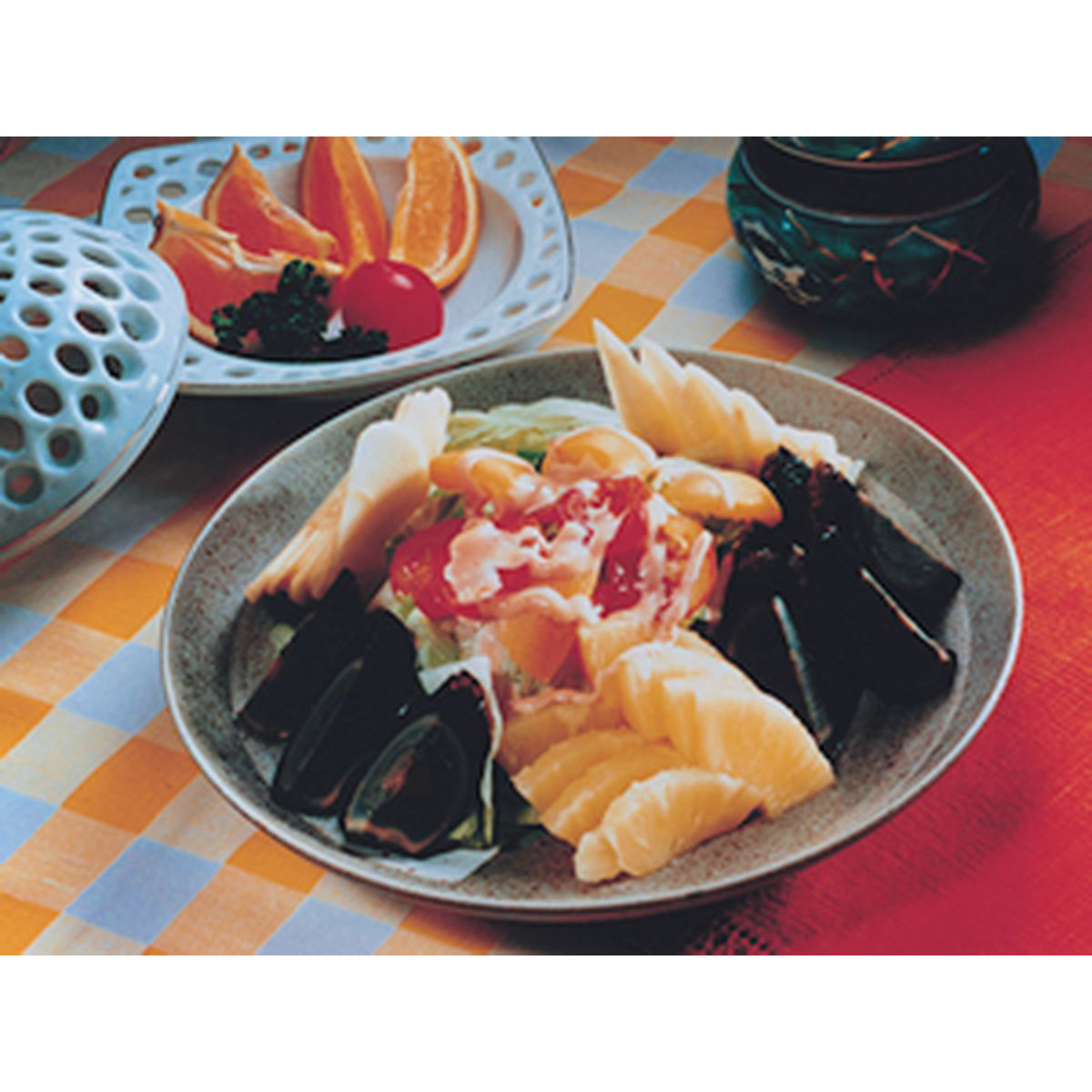 食譜:水果皮蛋沙拉