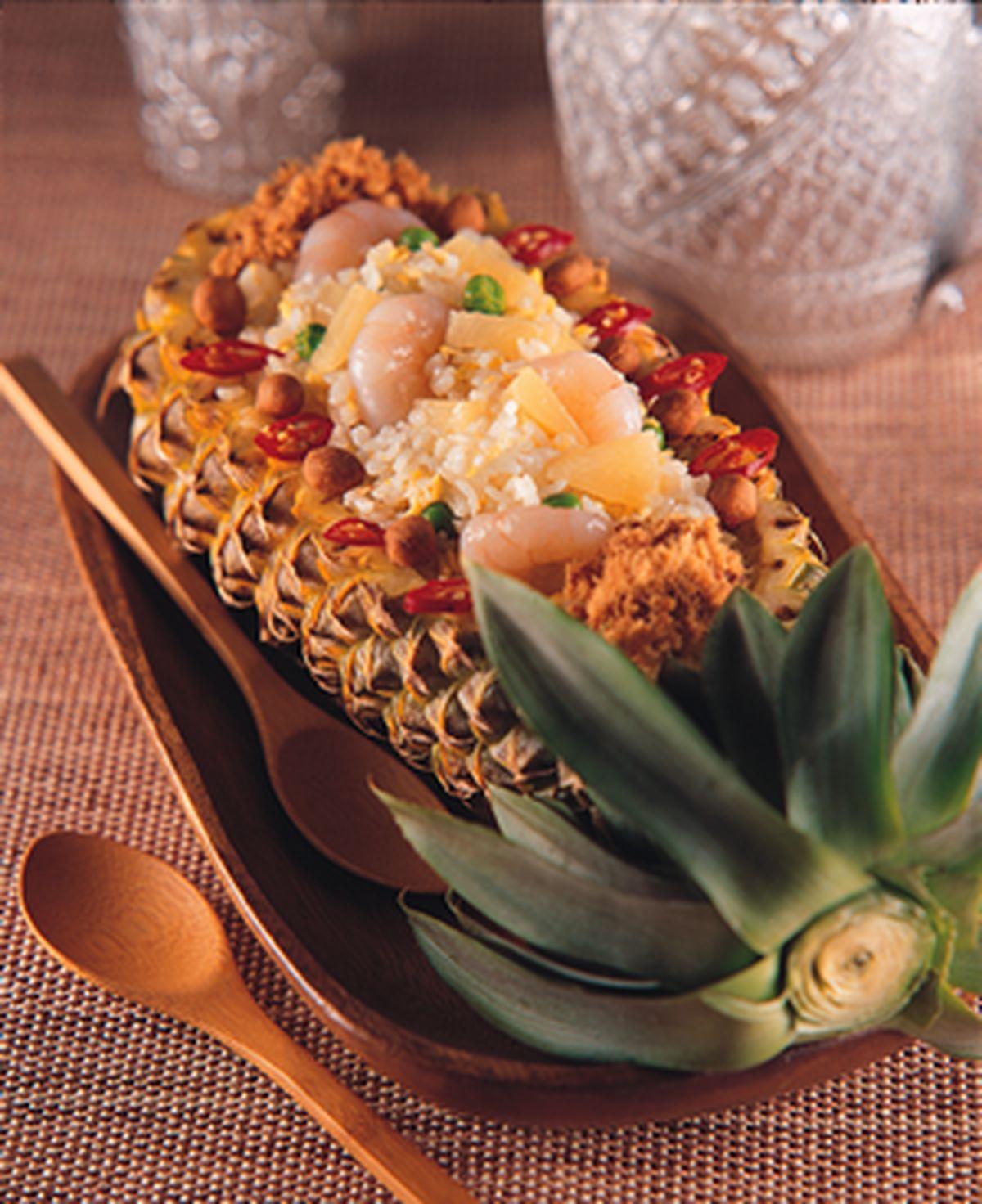 食譜:泰式鳳梨炒飯
