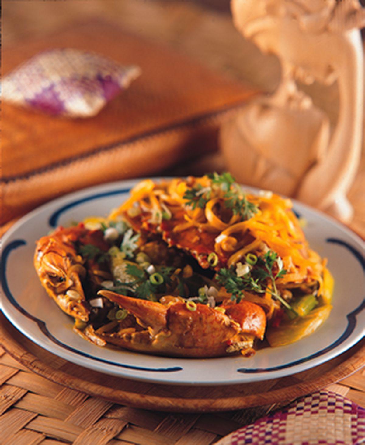 食譜:咖哩螃蟹