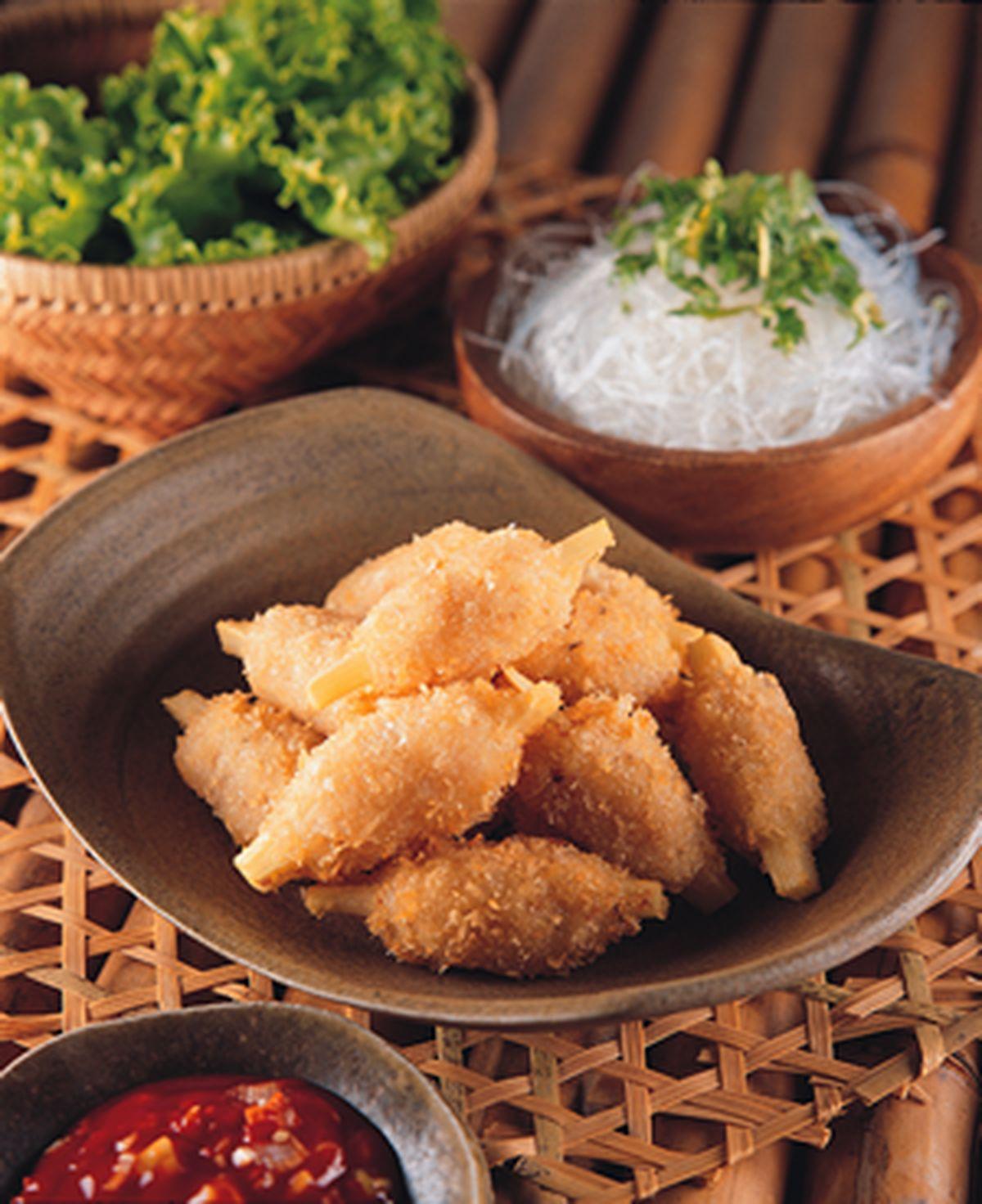 食譜:甘蔗蝦