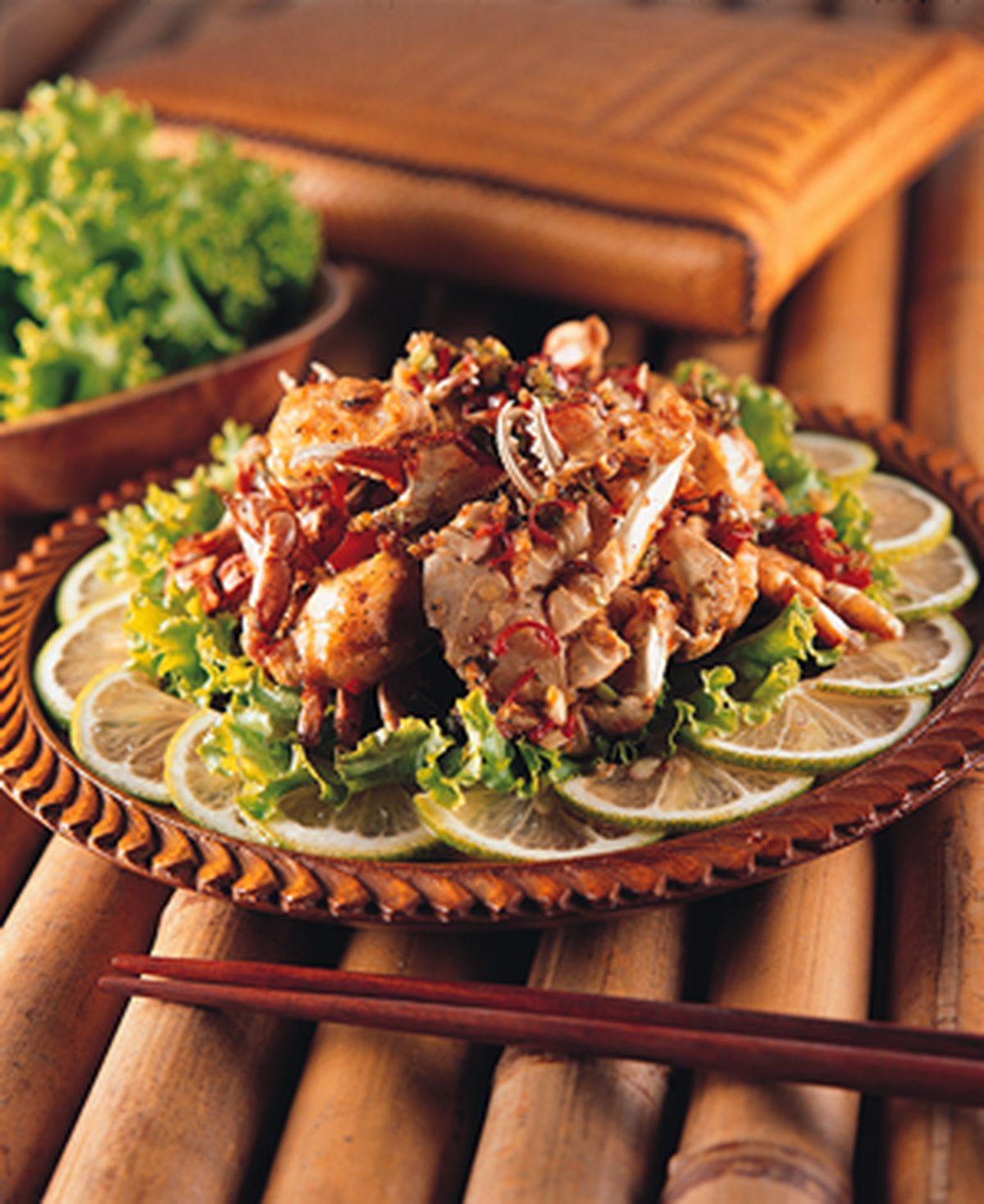 食譜:椒鹽軟殼蟹