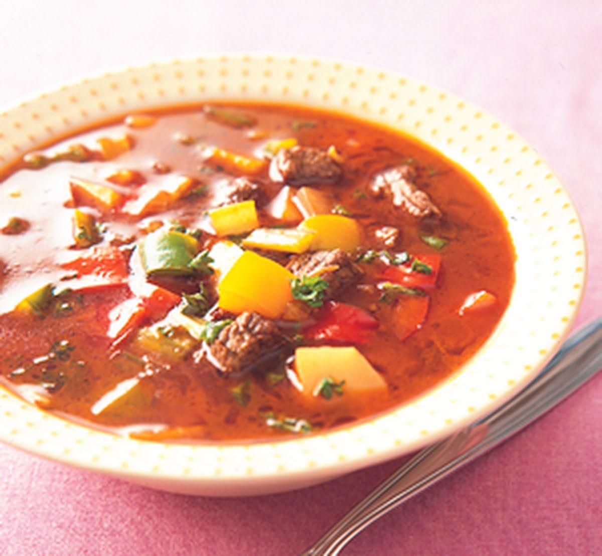 食譜:希臘風味牛肉湯