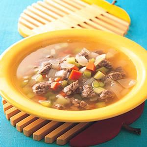 西班牙蔬菜牛肉清湯