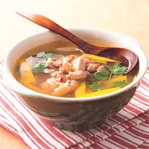 墨西哥酪梨雞湯