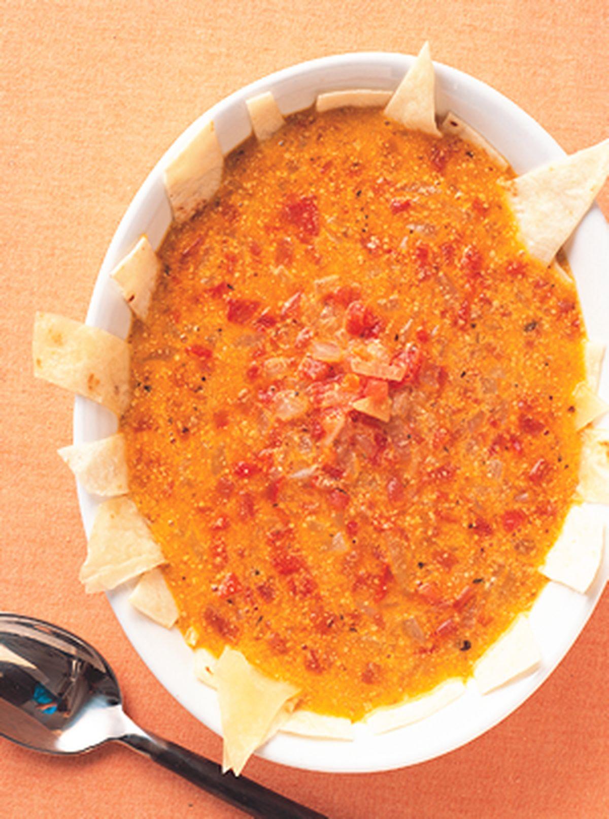 食譜:墨西哥白豆軟餅湯