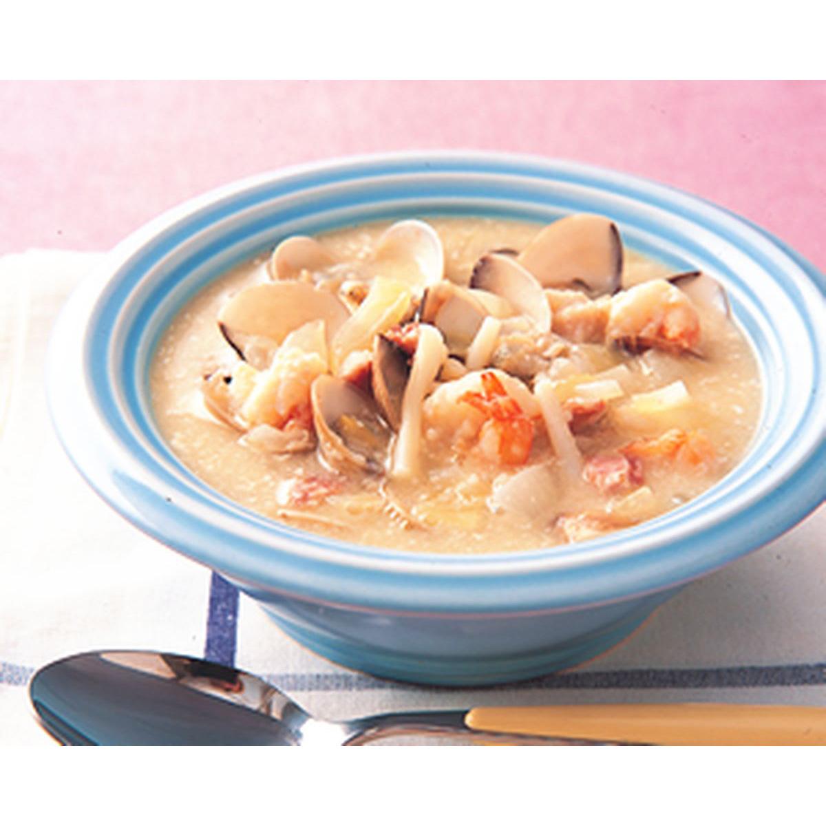 食譜:海鮮巧達湯