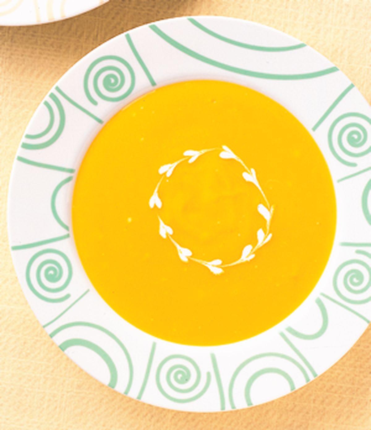 食譜:奶油南瓜濃湯