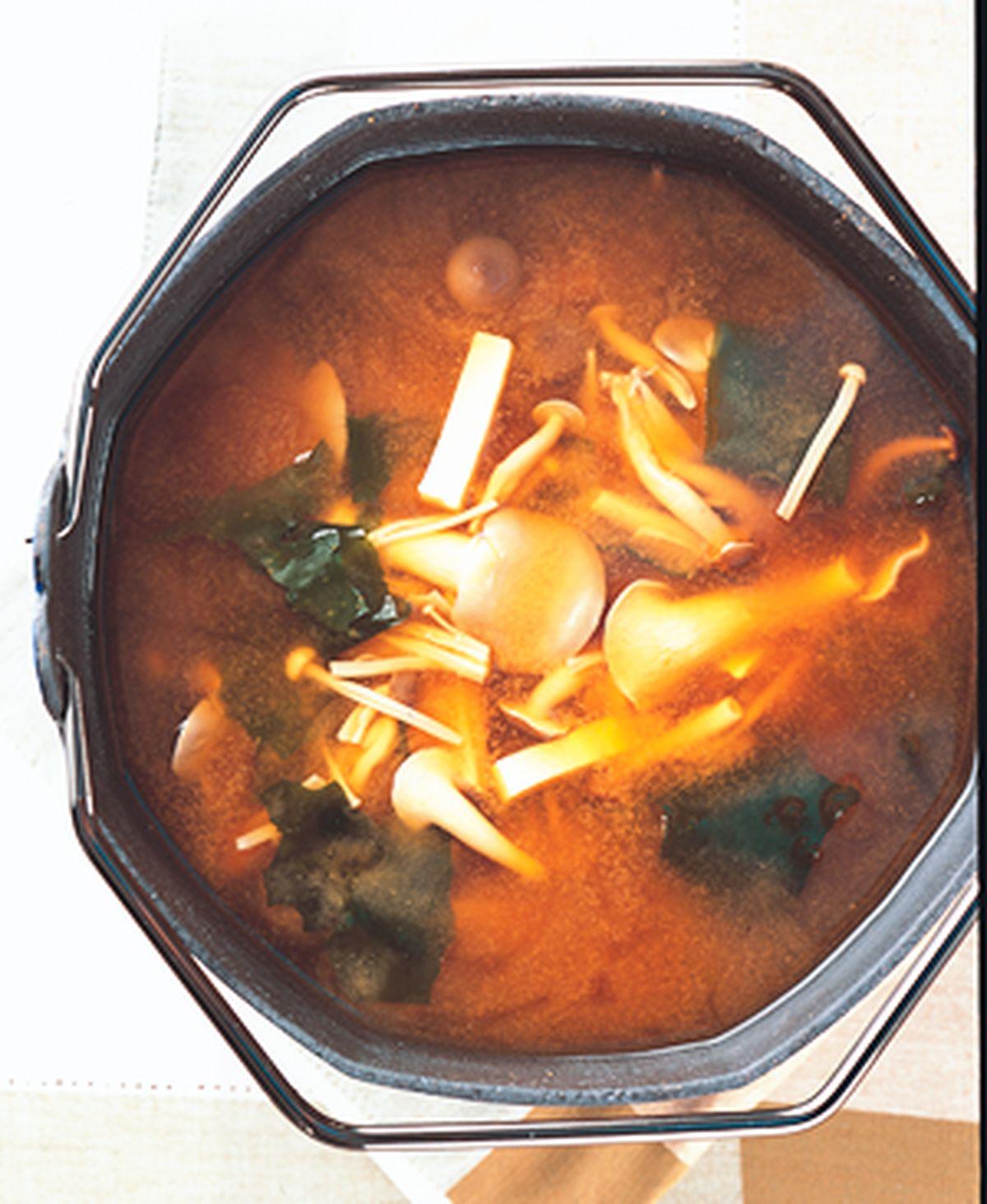 食譜:蕈菇味噌湯