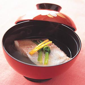 懷石風味鯛魚湯