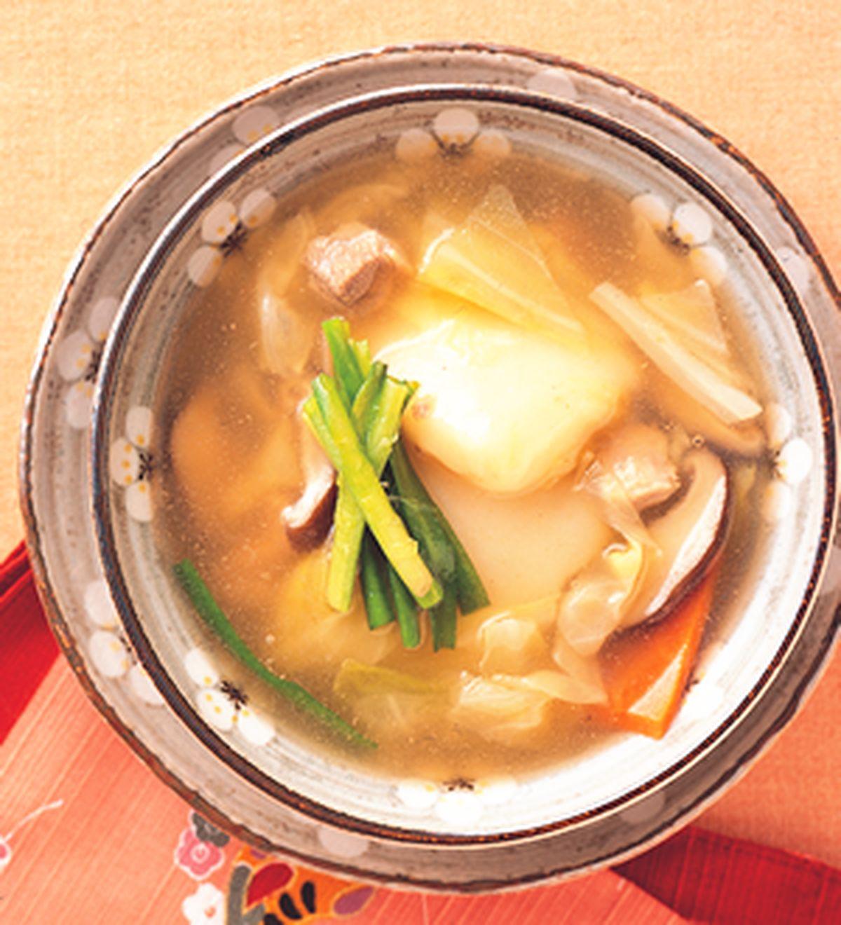 食譜:日式年糕湯