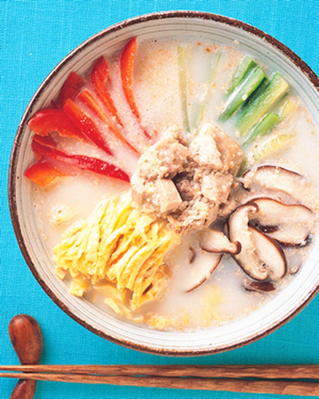 食譜:韓式芝麻冷湯
