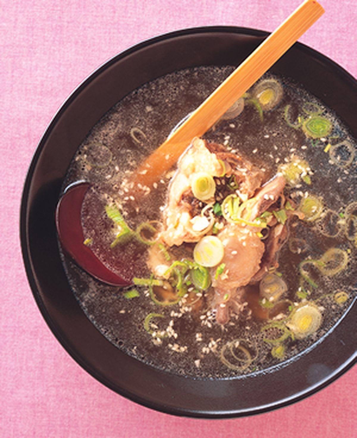 食譜:韓式牛尾湯