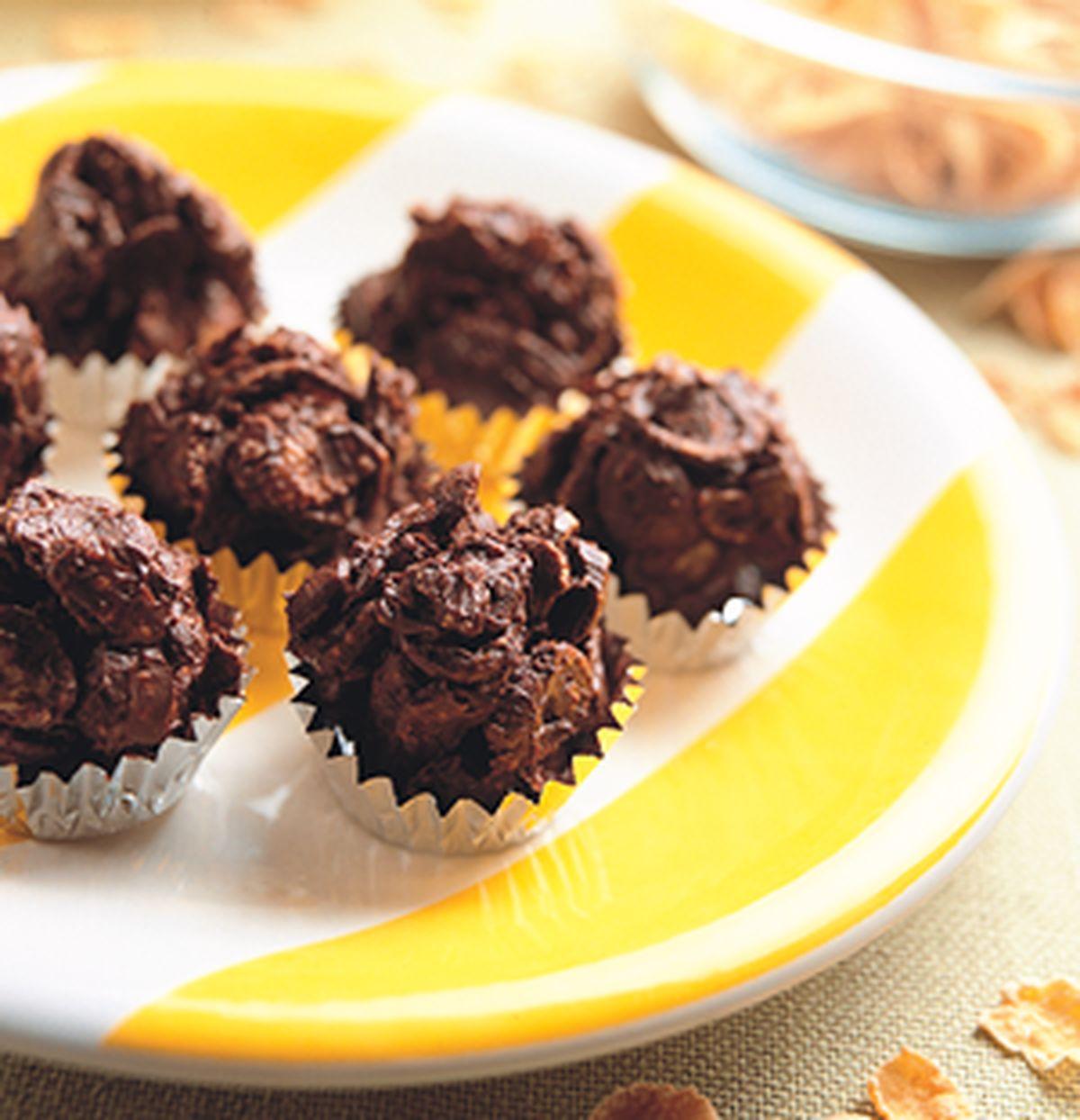 食譜:巧克力球