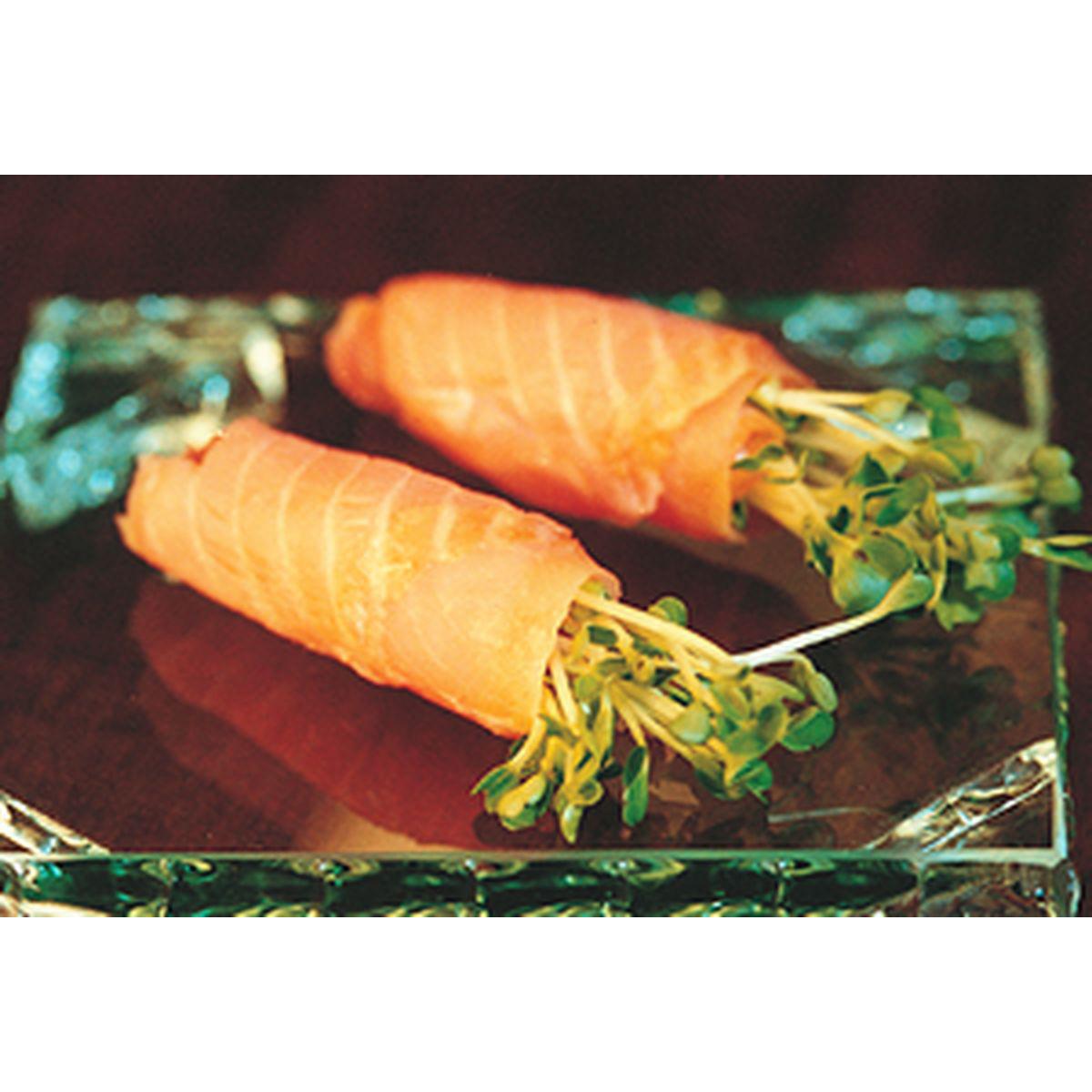 食譜:煙燻鮭魚捲