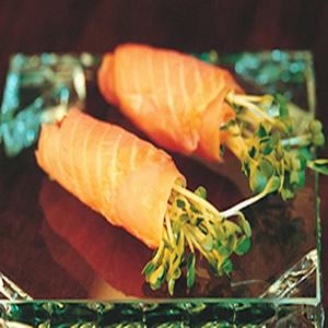 煙燻鮭魚捲