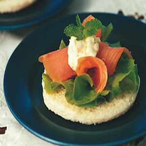 燻鮭開面三明治