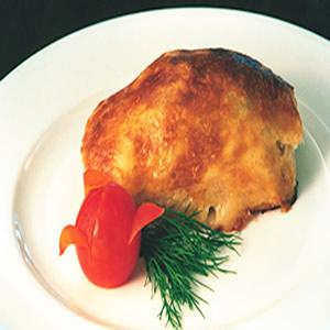 茴香酥皮烤鮭魚