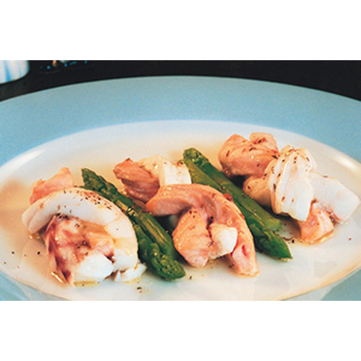 食譜:馬郁蘭鮭魚捲