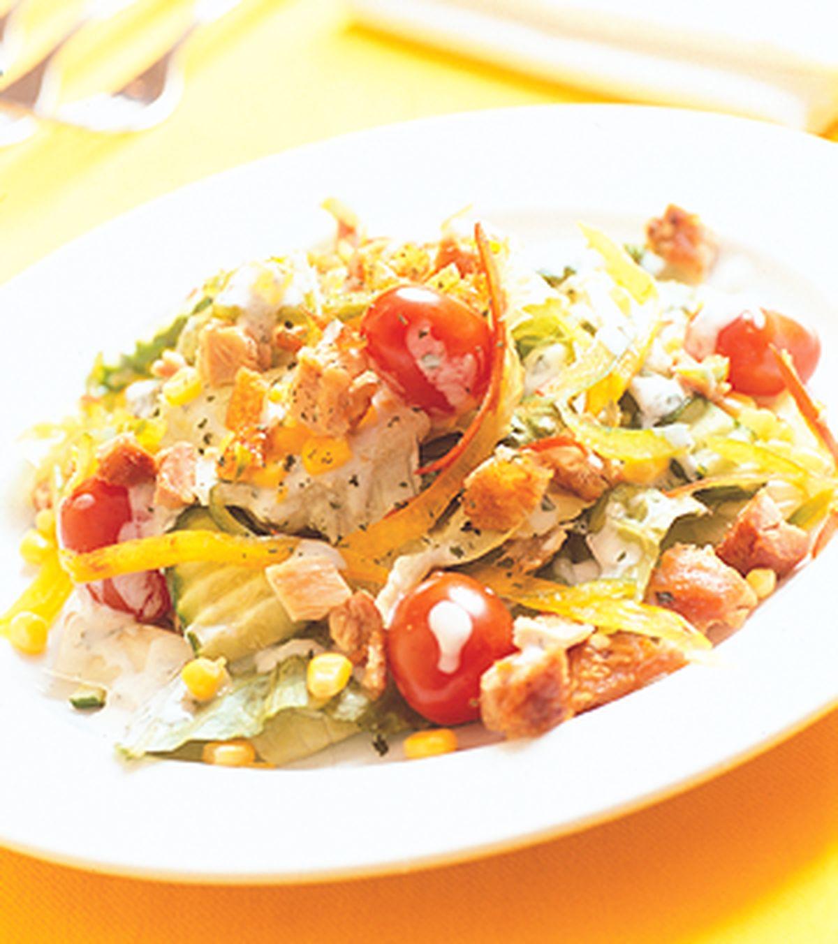 食譜:薄荷香料蔬菜沙拉