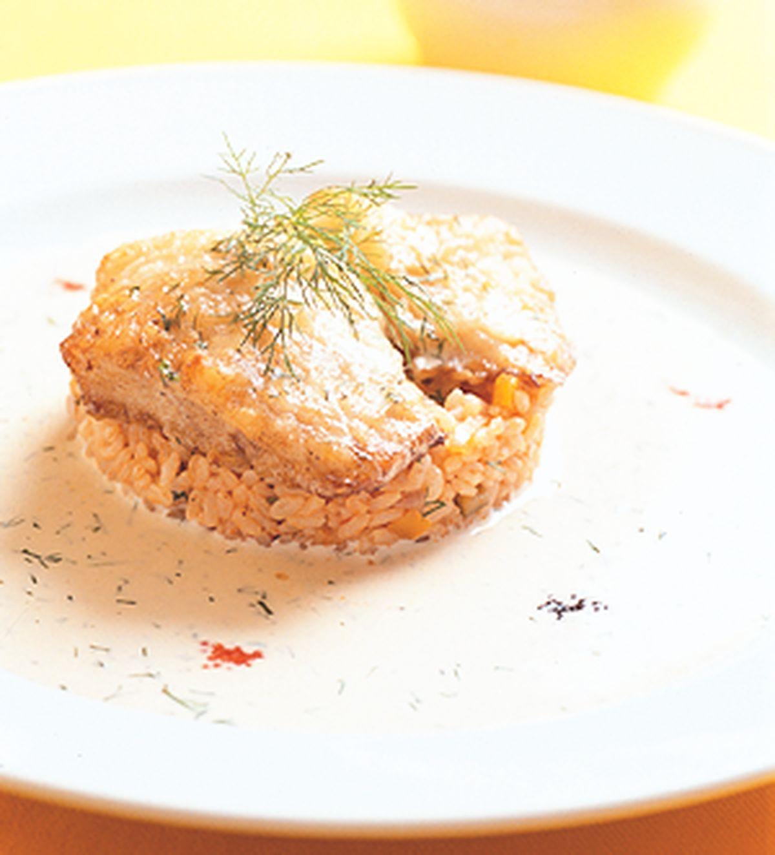 食譜:蒔蘿魚排