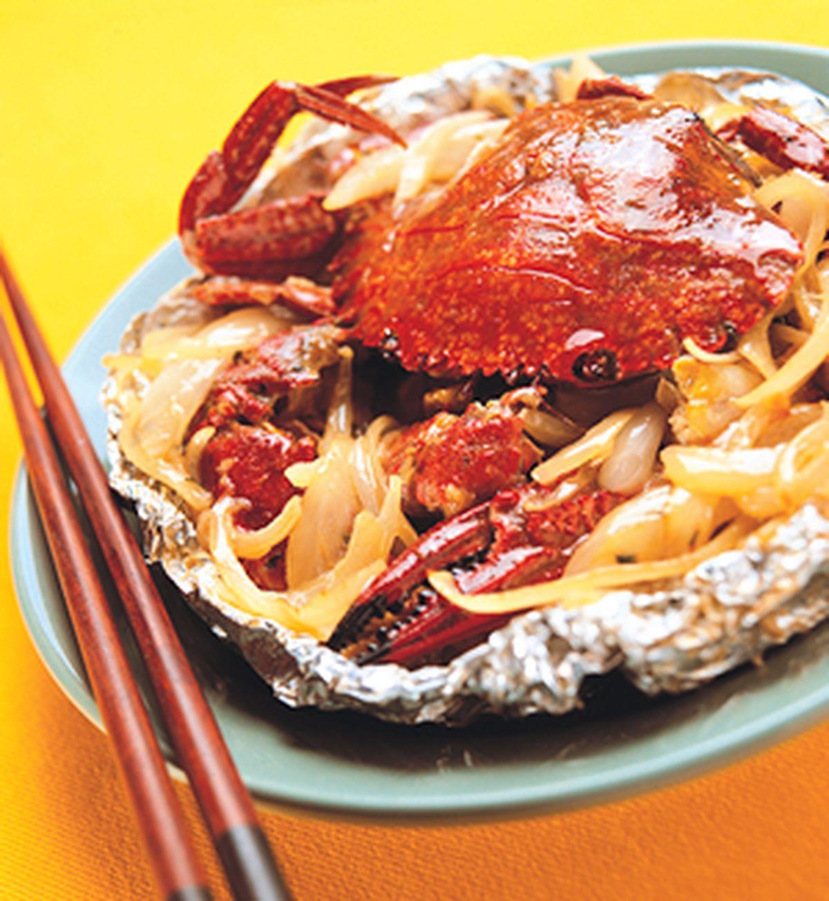 食譜:螃蟹奶油燒